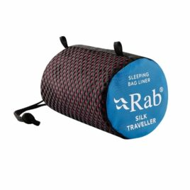 RAB mummy Silk Sleeping Bag Liner  – Regular Burgundy. Brand New.                   [Stock Available!]